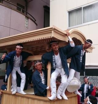 烏須井八幡神社例祭