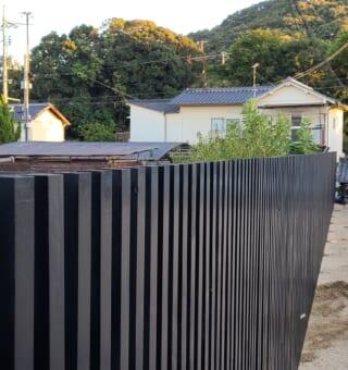 目隠しフェンス工事